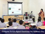 Telangana To Implement Digital Classrooms On Childrens Day