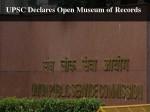 Upsc Declares Open Museum Records