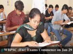 Wbpsc Exe Exams Commence On Jan 29 Apply Before Nov