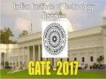 Gate 2017 Exam Admit Card Released Download Now