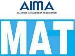 Aima Mat Exam Dates Released