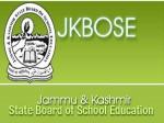Jkbose Class 12 Annual Private Results Announced
