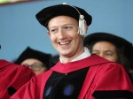 Mark Zuckerberg Graduates After 13 Years From Harvard University Gives Ideas For Success