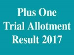 Kerala Plus One Trial Allotment Released Check Now