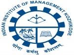 Iim Kozhikode Recruitment 2017 Apply Now