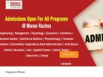 Manav Rachna University Opens Engineering Admissions