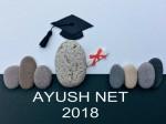 Ayush Net 2018 To Take Place On November