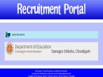 Samagra Shiksha Chandigarh Recruitment 2019 196 Trained Graduate Teachers Tgts Vacancies