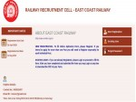 East Coast Rrc Recruitment 2019 For 310 Junior Engineers Technicians Clerks And Others