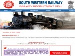 Southern Western Railway Recruitment Apply Online For 179 Clerks Station Master And Goods Guard
