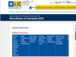 Lic Recruitment Apply Online For 8500 Assistants Post Before October 1