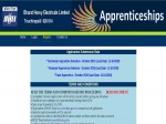 Bhel Recruitment For 765 Trade Technician And Graduate Apprentices Apply Online Before October