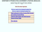 Karnataka Govt Jobs Apply Online For Assistant Public Prosecutor Cum Government Pleader Posts