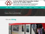 Lmrc Recruitment 2019 For 42 Chief Engineers Architects And Other Posts In Lmrc