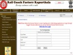 Indian Railway Recruitment 2020 For 400 Apprentices Post At Rail Coach Factory In Kapurthala