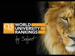 Qs World University Ranking By Subject