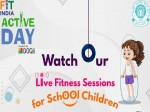 Cbse And Fit India Mission Live Fitness Sessions For School Students Till May