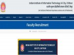 Iiits Recruitment 2020 For Assistant And Associate Professors Apply Offline Before June