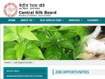 Central Silk Board Recruitment 2020 For 79 Scientists And Assistants Apply Online Before July