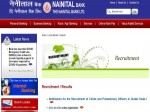 Nainital Bank Po Recruitment 2020 For 155 Probationary Officer And Clerk Apply Before September