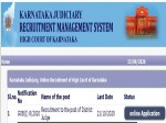 Karnataka High Court Recruitment 2020 For 30 District Judges Post Apply Online Before October
