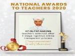 National Award To Teachers 2020 President Kovind To Confer National Award For Teachers 2020 On Sep