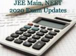 Neet 2020 Postponement Jee Main Neet Exam Live Updates