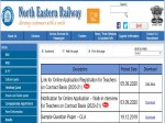 Rrc North Eastern Railway Recruitment 2020 For Pgt And Tgt Posts Register Online Before Sep