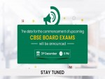 Cbse Board Exams 2021 Cbse Board Exam Dates To Be Announced At 6 Pm On December