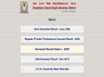 Ccsu Result 2020 Check Ccsu Bed Result At Ccsuniversity Ac In