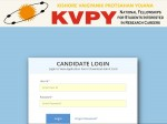 Iisc Kvpy Admit Card 2021 Download Kvpy Hall Ticket At Kvpy Iisc Ernet In