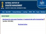 Nidm Recruitment 2021 For Jr Consultants Consultants Mts And Helper Jobs Apply Before February
