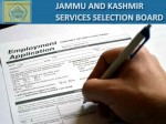 Jkssb Recruitment 2021 For 927 Je Draftsman Junior Steno And Other Posts Apply Online At Jkssb Nic
