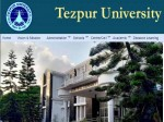 Tezpur University Recruitment 2021 For 91 Asst Professor Associate Profs And Professors Posts