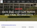 Gate Final Answer Key Released Download Pdf Here