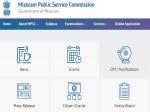 Mizoram Psc Recruitment 2021 Apply Online For Junior Grade Group A Posts In Mpsc Mizoram Gov In
