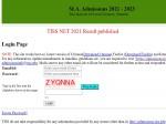 Tissnet Result 2021 Declared Check Tissnet 2021 Result Link