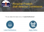 Hpssc Recruitment 2021 For 379 Je Clerk Office Assistant And Other Posts Apply Online Before May