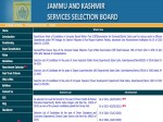 Jkssb Result 2021 Released For Posts Under Pm Package