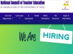 Ncte Recruitment 2021 Notification For Ncte Academic Consultant Jobs Apply Offline Before April