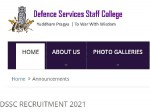 Dssc Recruitment 2021 Apply Offline For 83 Mts Ldc Stenographer And Driver Group C Posts In Dssc