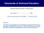Tndte Diploma Result 2021 February Declared At Tndte Gov In