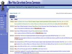 Bihar Police Result 2021 Bpssc Releases Bihar Police Si And Asj Final Result