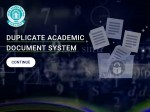 Cbse Duplicate Academic Document System Dads Portal