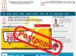 Icmai Cma June 2021 Exams Postponed Amid Covid Pandemic