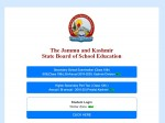 Jkbose 10th Result Check Class 10th Result Link At Results Jkbose Ac In
