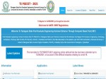 Ts Pgecet Admit Card 2021 Download At Pgecet Tsche Ac In