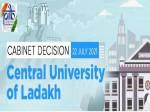 Ladakh S First Central University Cabinet Approves Establishment Of Central University In Ladakh