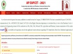 Ap Eamcet Results 2021 Direct Link At Sche Ap Gov In Eapcet