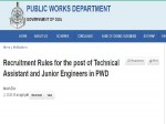 Goa Pwd Recruitment 2021 For 368 Junior Engineers And Technical Assistants At Goa Pwd Notification